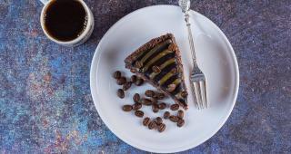 Benefício do café para degustar com bolos